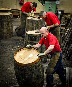 Speyside, Cooperage, Barrel, Dufftown, One, Work, Hard