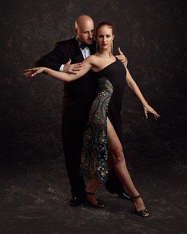 Tango, Argentina, Couple, Dance, Dancers, Dancing