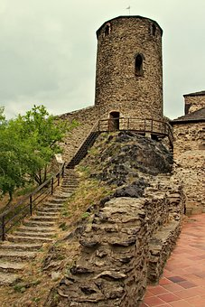 Castle, Ruins, Tower, History, Middle Ages, Monument