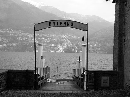 Brienno, Jetty, Lake, Lake Como, Dock, Alpine, Alps
