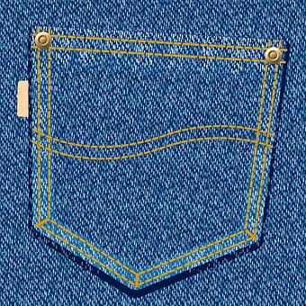 Jeans, Pocket, Fabric, Denim, Line, Seam, Rivet, Pants