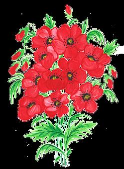 Red Weed, Poppy, Field, Flowers, Nature, Flower, Meadow