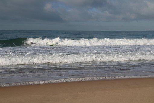 Beach, Waves, Nature, Surfers, Sport, Ocean, Sea, Sand