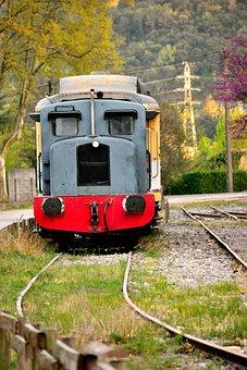 Train, Railway, Vintage, Locomotive, Old, Rail