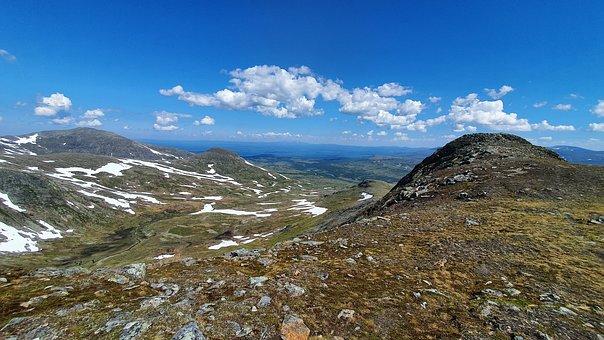 Sweden, Jämtland, Getryggen, Storulvån, Mountain