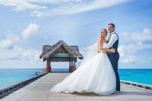 Wedding, Vacations, Sea, Maldives, Summer, Travel