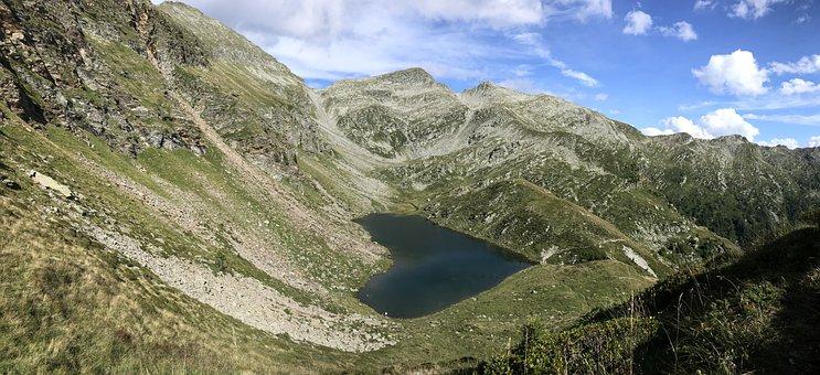 Calanca Alpine Path, Calvaresc Lake, Alpine Route, Alps