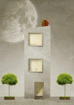 Architecture, Apartment, Building, House, Home
