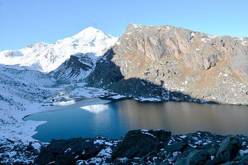 Mayali Pass, Lake, Mountains, Snow, Mountain Lake