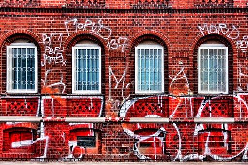 Graffiti, Wall Painting, Spray, Art, Hauswand, Factory