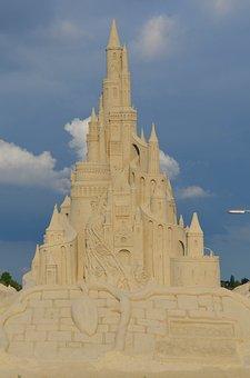 Sand Sculpture, Sandburg, Art, Sculpture, Sand, Artwork