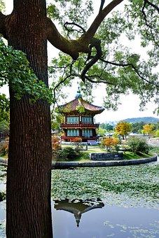 Temple, South Korea, Joseon, Asia, Architecture