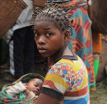 Africa, Congo, Rdc, Mom, Maternity, Baby, Motherly Love