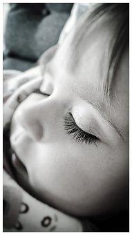 Sleeping, Child, Girl, Toddler, Baby, Eye Lashes