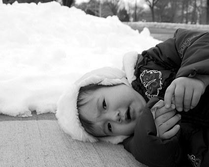 Baby, Winter, Child, Girl, Kid, Cold, Cute, Young, Snow