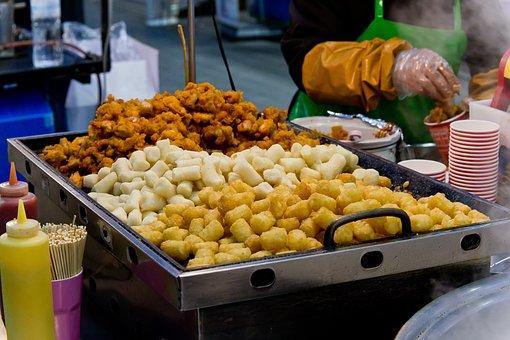 Korean Street Food, Seoul, Korea