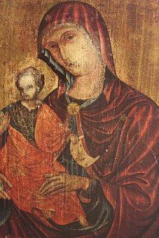 Jesus, Maria, Christ, Mary, Statue, Child, Saint