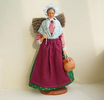 Baby, Provençal Folk Costumes, Ornaments, Game