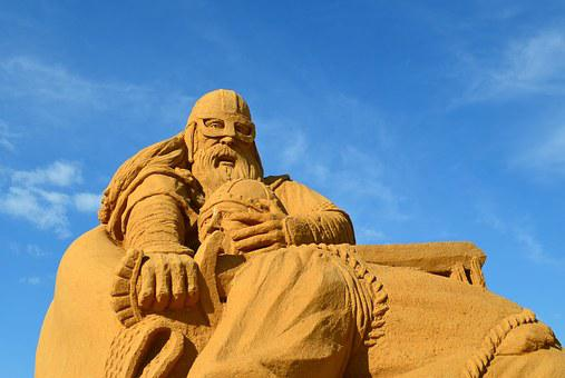 Sand, Sculpture, Sand Sculpture, Art, Sandburg