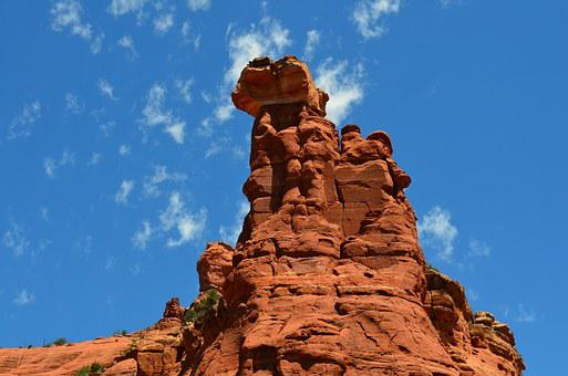 Vortex, Sedona, Arizona, Usa, Sandstone, Desert