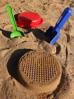 Sand, Digging, Sieve, Pokes Fun At, Blade, Sandalwood
