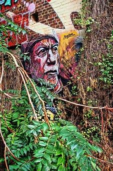 Graffiti, Wall Painting, Spray, Art, Hauswand, Painting