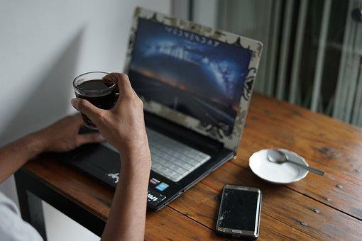 Enjoy, Coffee, Black, Caffeine, Drink, Espresso, Break