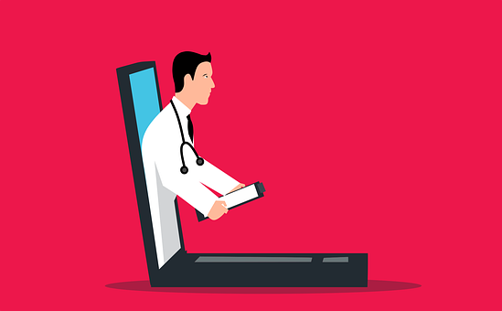 Doctor, Laptop, Consultation, Online, Medical, Chat