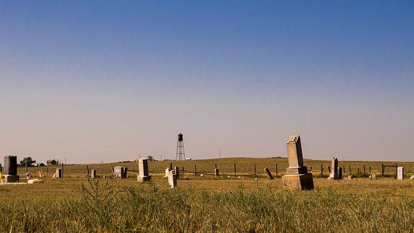 Ghost Town, Keota Colorado, Old Cemetery
