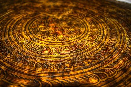 Gong, Metal, Brass, Bronze, Energy, Mantra, Yoga