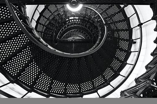 Spiral Staircase, Stair Well, Stairwell, Stairs