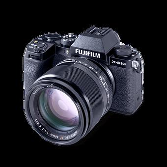 Camera, Fujifilm Xs10, Fujinon Xf 56mm, Video, Lens