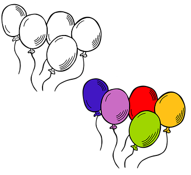 Balloons, Party, Birthday, Celebration, Decoration