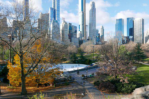 Central Park, New York, Nyc, Manhattan, Park, Skyline