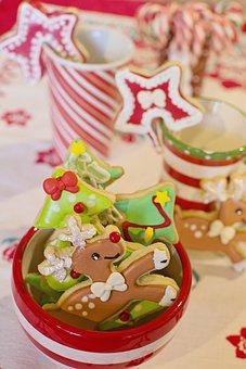Cookies, Sweets, Christmas Cookies, Dessert, Homemade