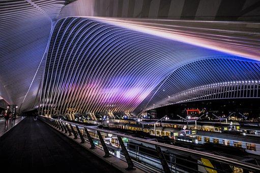 Liège, Architecture, Building, Modern, Construction