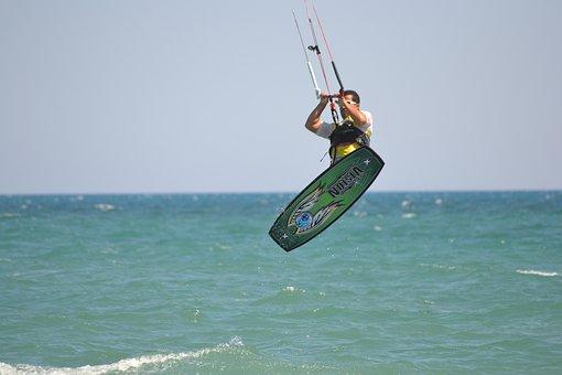 Belek, Beach Park, Parachute Surfing, Marine, Holiday