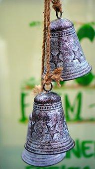 Bells, Christmas, Decoration, Hanging, Advent, Holidays