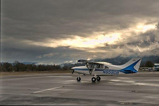 Airplane, Maule M-7, Biplane, Small Plane