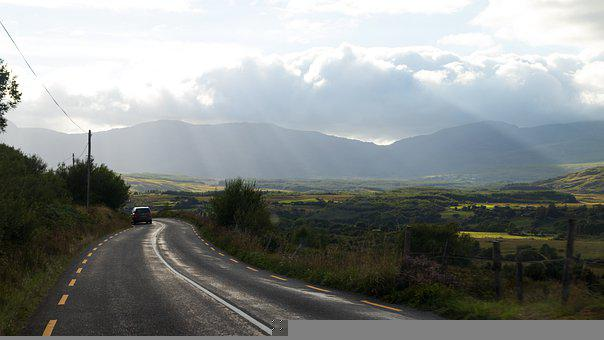Road, Car, Mountains, Drive, Journey, Road Trip