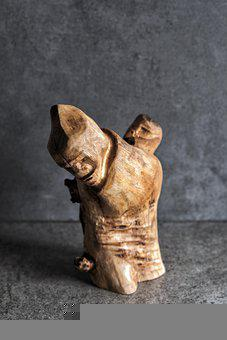 Wood, Sculpture, Carving, Carved, Ulivo, Follett