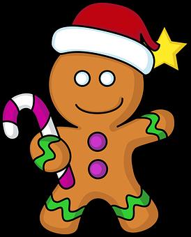 Cookie, Gingerbread, Christmas, Gingerbread Man