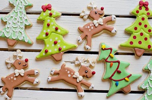 Christmas Cookies, Sweets, Christmas, Cookies, Food