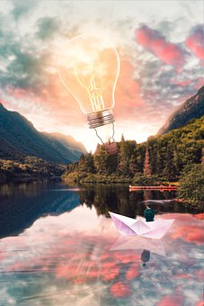 Fantasyart, Bulb, Composition, Happy, Innovation
