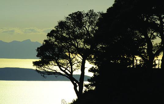 Sunset, Islands, Sicily, Egadi, Sea, Silhouette