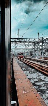 Train, Rails, Railroad, Jakarta