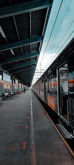 Railway, Railway Station, Train, Commuter Line, Bekasi