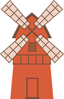 Windmill, Building, Farm, Structure, Tool, Agriculture