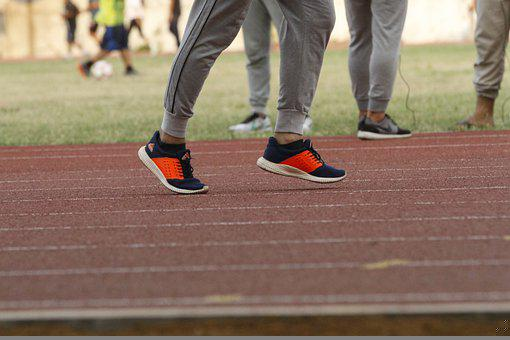 Running, Shoes, Track, Track And Field, Runner