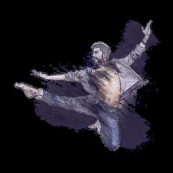 Man, Ballet, Jump, Dance, Choreography, Activity, Male